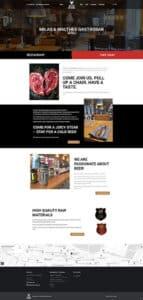 Ny hjemmeside til Milas & Malthes Gastropub i Kolding