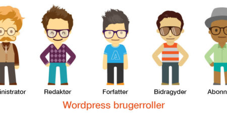 Wordpress brugerroller