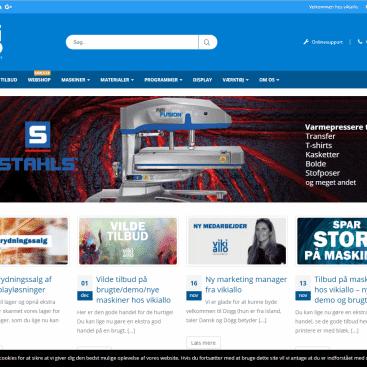 hjemmeside til vikiallo